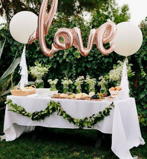 outdoor-bridal-shower-eco-friendly-plants-eco-party