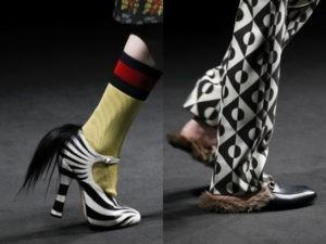 zapatos con piel