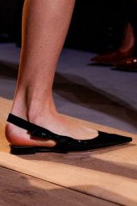 Zapato pie puntiagudo