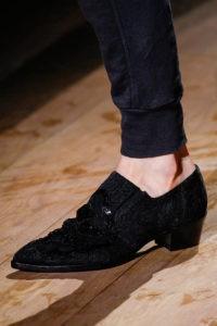 Zapato pie puntiagudo 2
