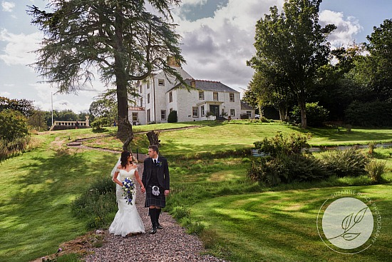 Neil and Rosalind | Wedding at Carphin House