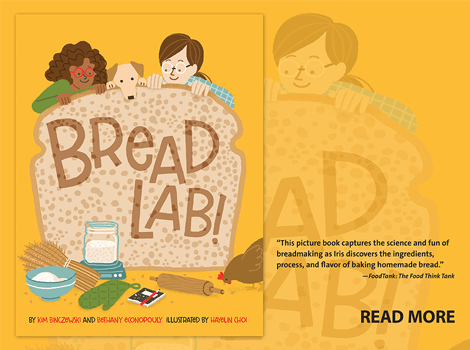 Bread Lab! book by Kim Binzewski and Bethany Econopouly