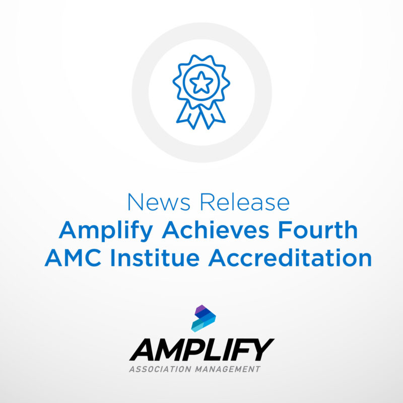 Amplify Achieves Fourth AMC Institute Accreditation