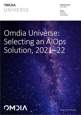 Omdia Universe: Selecting an AIOps solution, 2021-2022