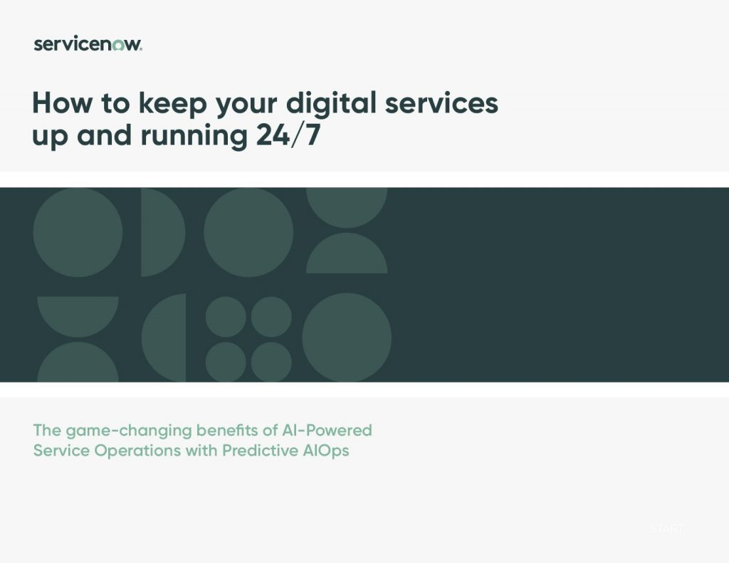 How to keep your digital services up and running 24/7