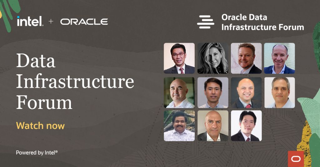 Oracle Data Infrastructure Forum