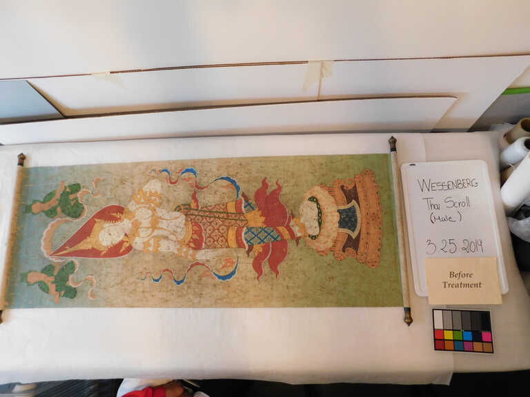 Thai Scroll Painting #2 picture number 1