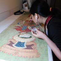Thai Scroll Painting #2 picture number 84