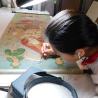 Thai Scroll Painting #2 picture number 38