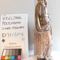 Santos Polychrome Wood Figures picture number 2