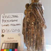 Santos Polychrome Wood Figures picture number 3