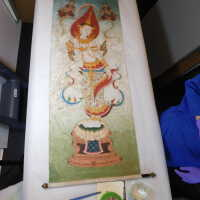 Thai scroll painting #1 picture number 296