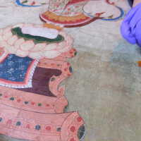 Thai scroll painting #1 picture number 299