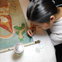Thai Scroll Painting #2 picture number 19