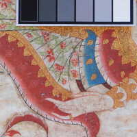 Thai scroll painting #1 picture number 254