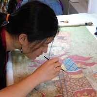 Thai Scroll Painting #2 picture number 85