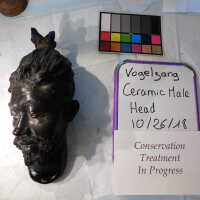 Ceramic Male Head picture number 6