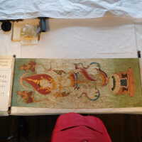Thai scroll painting #1 picture number 220
