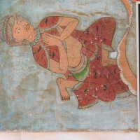 Thai scroll painting #1 picture number 202