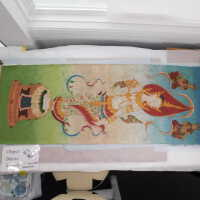 Thai scroll painting #1 picture number 330