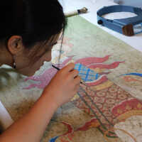 Thai Scroll Painting #2 picture number 86