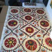 Uzbek Floral Textile