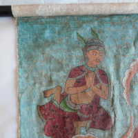 Thai scroll painting #1 picture number 180