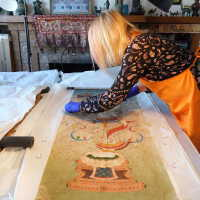 Thai scroll painting #1 picture number 38