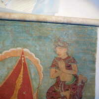 Thai scroll painting #1 picture number 190