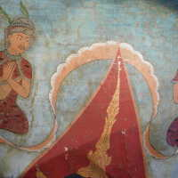 Thai scroll painting #1 picture number 191