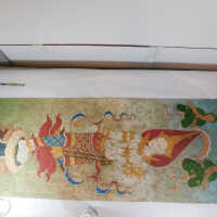 Thai Scroll Painting #2 picture number 108