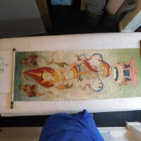 Thai scroll painting #1 picture number 285
