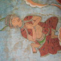 Thai scroll painting #1 picture number 265