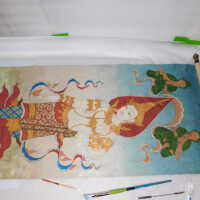 Thai Scroll Painting #2 picture number 244