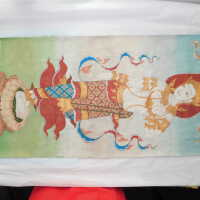 Thai Scroll Painting #2 picture number 252