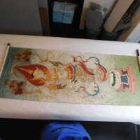 Thai scroll painting #1 picture number 282