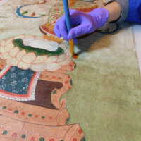 Thai scroll painting #1 picture number 301