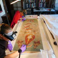 Thai scroll painting #1 picture number 9