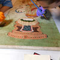 Thai scroll painting #1 picture number 298
