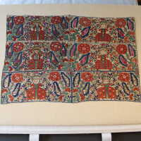 Epirus Bedskirt or Canopy Embroidery Panels