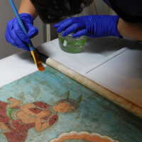 Thai scroll painting #1 picture number 289