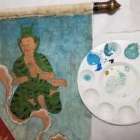 Thai Scroll Painting #2 picture number 186