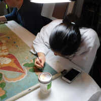 Thai Scroll Painting #2 picture number 29