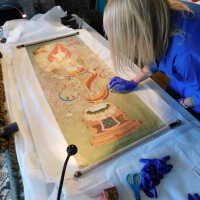 Thai scroll painting #1 picture number 34
