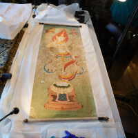 Thai scroll painting #1 picture number 36