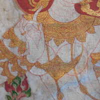 Thai scroll painting #1 picture number 267
