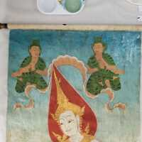 Thai Scroll Painting #2 picture number 192