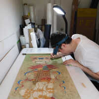 Thai Scroll Painting #2 picture number 32