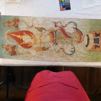 Thai scroll painting #1 picture number 217