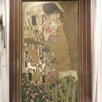 """The Kiss"" after Klimt"